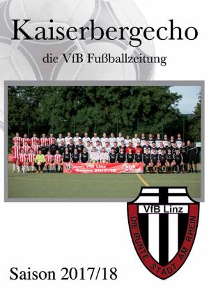 Stadionheft Kaiserbergecho Saison 2017/2018