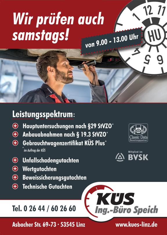 Sponsor KÜS Ing.-Büro Speich