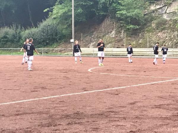 Foto vom Testspiel der JSG A-Junioren gegen den SV Leubsdorf