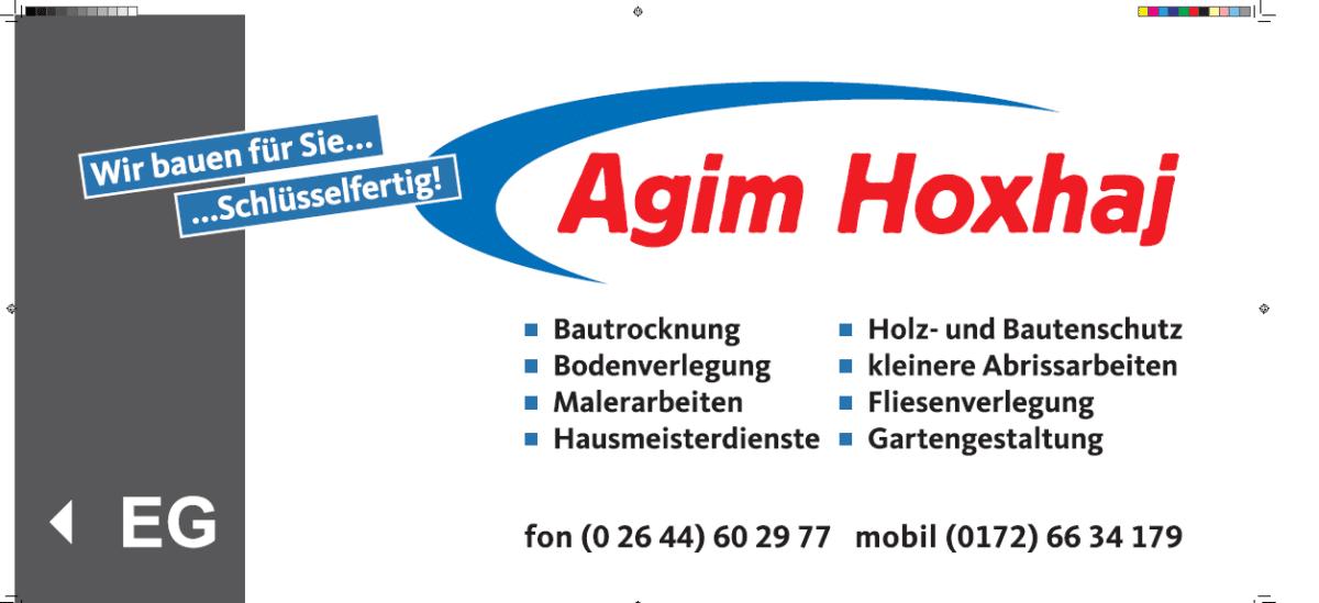 Sponsor Agim Hoxhaj