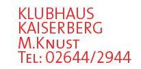 Sponsor Klubhaus Kaiserberg