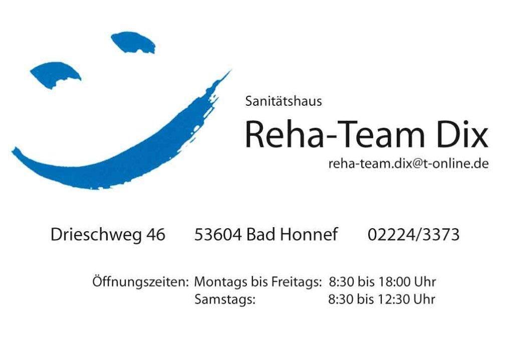 Sponsor Reha-Team Dix