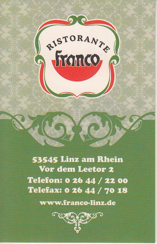 Sponsor Ristorante Franco