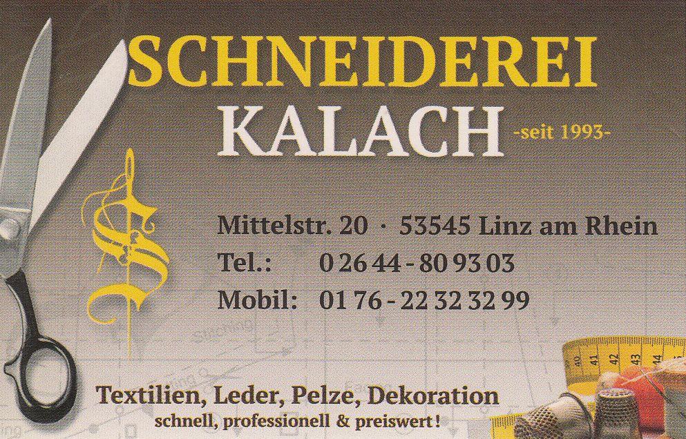 Sponsor Schneiderei Kalach