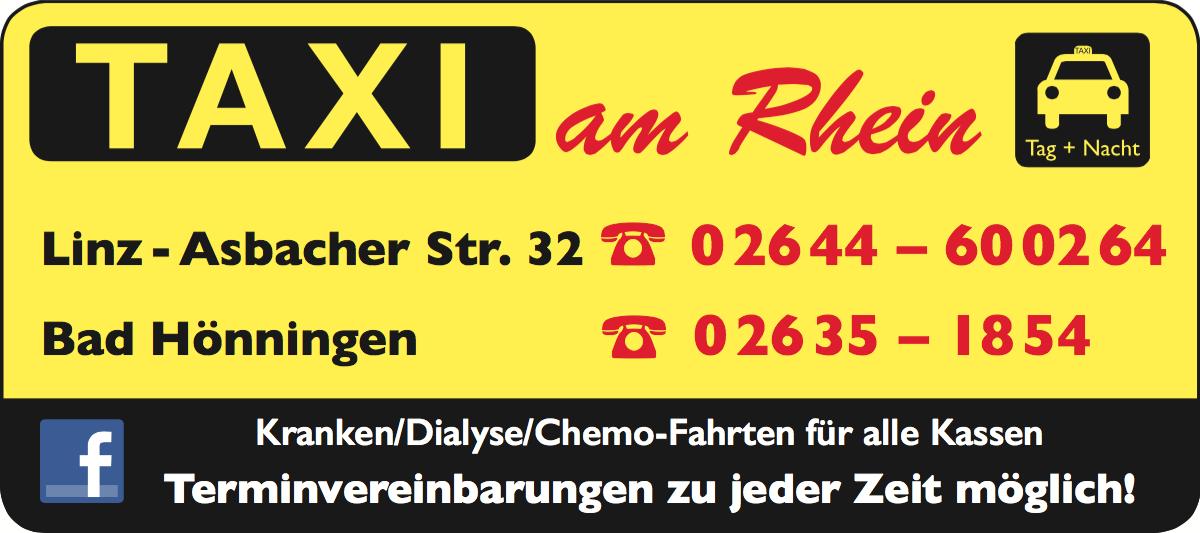 Sponsor Taxi am Rhein