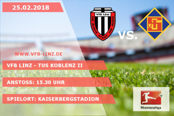 Spieltagplakat VfB Linz - TuS Koblenz II