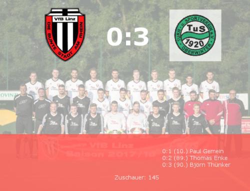 VfB Linz steckt wieder tief im Abstiegskampf