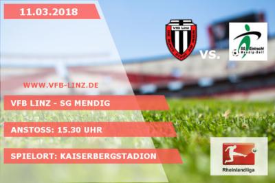 Spieltagplakat VfB Linz - SG Mendig