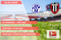 Spieltagplakat SV Mehring - VfB Linz