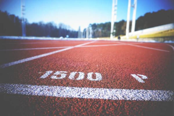 Leichtathletik Tartanbahn