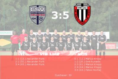 CSV Neuwied - VfB Linz II