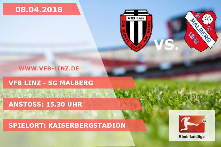 Spieltagplakat VfB Linz - SG Malberg