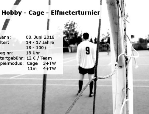 Hobbyfußballturnier im Cage