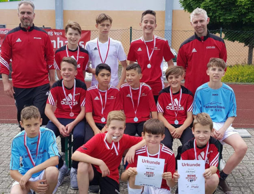 D-Junioren feiern Turniererfolge