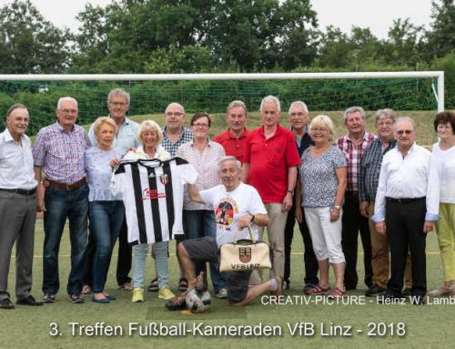 Drittes Treffen der ehemaligen Fußballer auf dem Kaiserberg