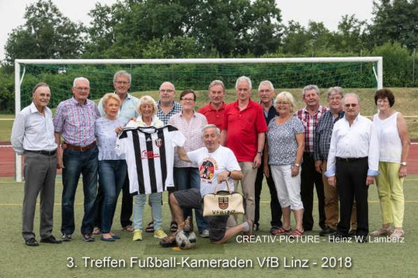 3. Treffen der ehemaligen Fußball Kameraden des VfB Linz