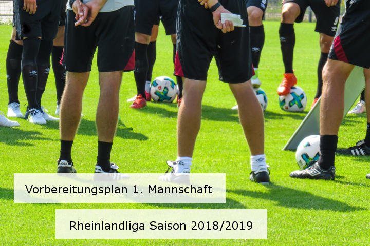 Sommervorbereitung der 1. Mannschaft - Saison 2018/2019
