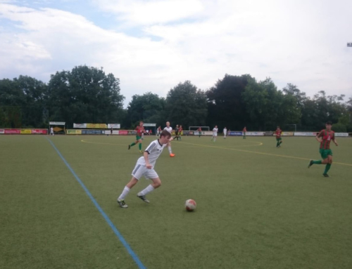 A-Junioren im Rheinlandpokal gegen Mayen