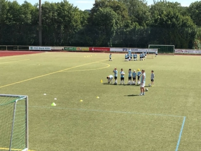 Sommer Fussballcamp des VfB Linz vom 30.07. - 03.08.2018