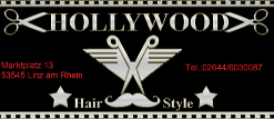 Sponsor Hollywood Hairstyle