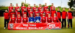 Mannschaftsfoto des VfB Linz - Saison 2016/2017