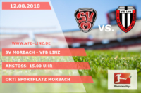 Spieltagplakat: SV Morbach - VfB Linz 12.08.2018