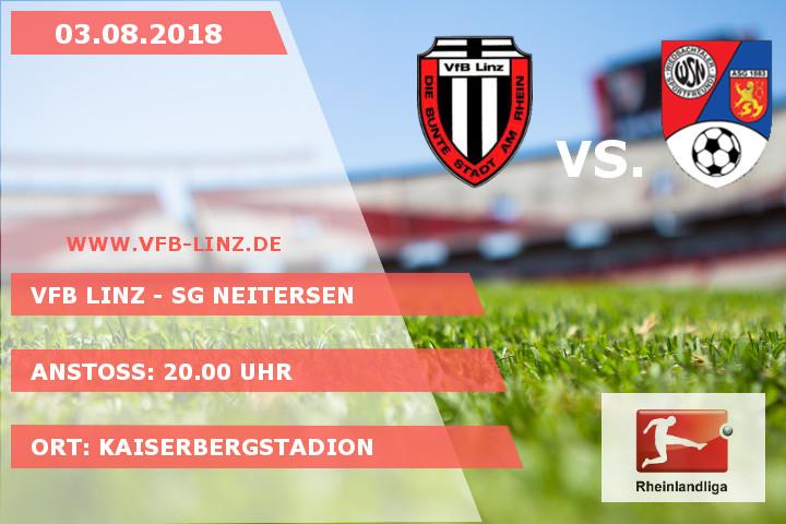 Spieltagplakat: VfB Linz - SG Neitersen 03.08.2018