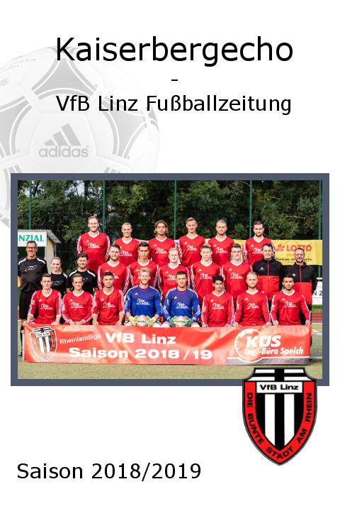 VfB Linz Kaiserbergecho - Saison 2018/2019