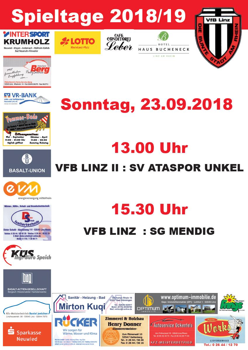 3. Heimspieltag des VfB Linz
