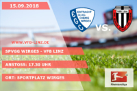 Spieltagplakat: Spvgg Wirges - VfB Linz