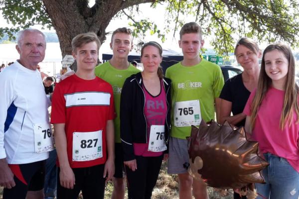 VfB Linz Leichtathleten starten in Maria Laach