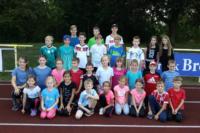 Alle Teilnehmer der Leichtathletik Vereinsmeisterschaften 2018