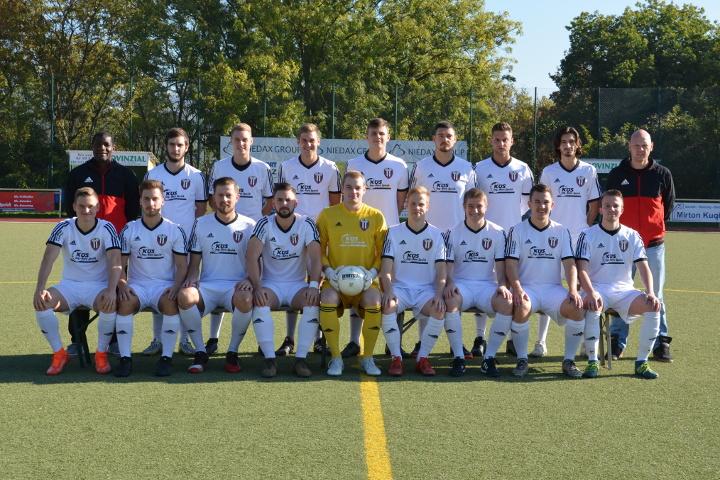 Mannschaftsfoto der 2. Mannschaft des VfB Linz II in der Saison 2018/2019