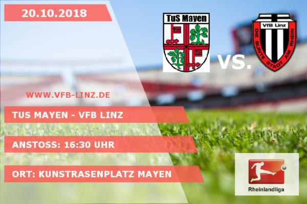 Spieltagplakat: TuS Mayen - VfB Linz
