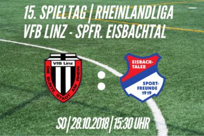 Spieltagplakat: VfB Linz - Spfr. Eisbachtal