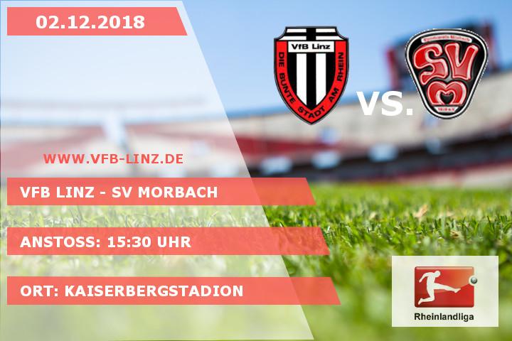 Spieltagplakat: VfB Linz - SV Morbach