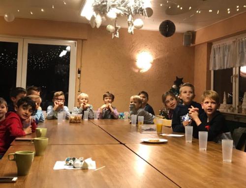 Weihnachtsfeier der F1-Junioren