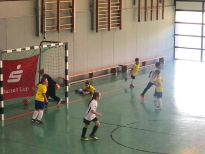 VfB Linz F2-Junioren beim Hallenturnier in Dierdorf