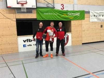Süwag Hallencup 2019 - Seniorenturnier - 1. Platz VfB Linz