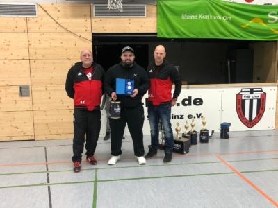 Süwag Hallencup 2019 - Seniorenturnier - Bester Torwart Metin
