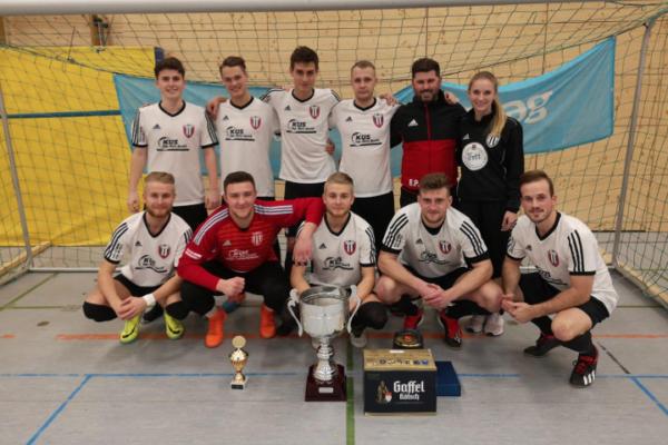 VfB Linz Sieger des Süwag Hallencups 2019