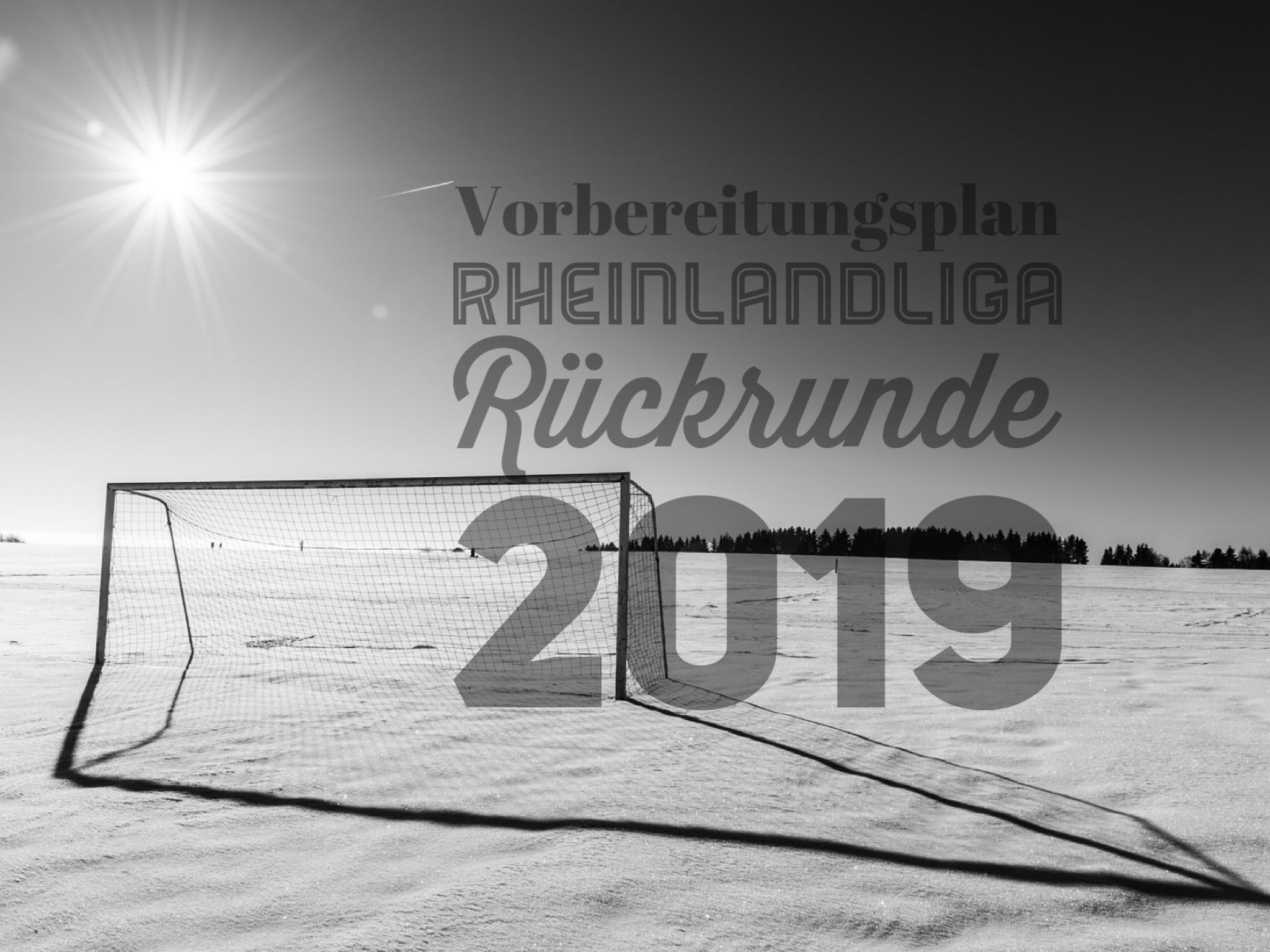 Vorbereitungsplan 1. Mannschaft Winter 2018/2019