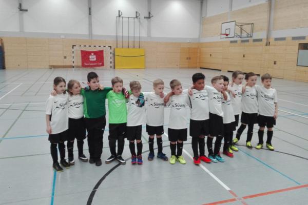 F2-Junioren des VfB Linz beim Hallenturnier in der Linzer Miesgesweghalle