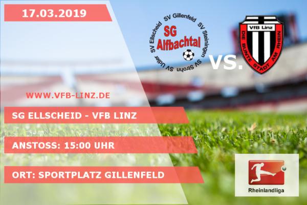 Spieltagplakat - SG Ellscheid - VfB Linz 17.03.2019