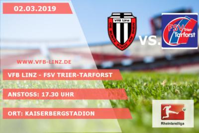 Spieltagplakat VfB Linz - FSV Trier-Tarforst