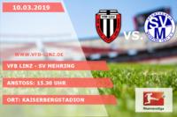 Spieltagplakat - VfB Linz - SV Mehring