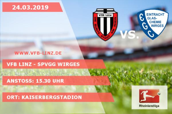 Spieltagplakat - VfB Linz - Spvgg Wirges
