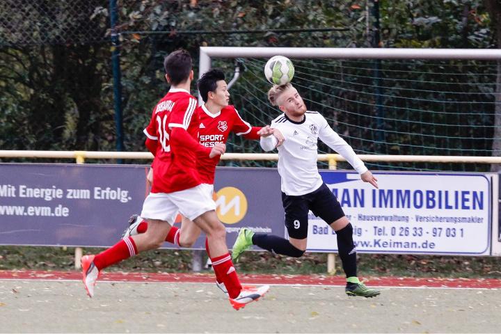 Manuel Rott vom VfB Linz im Spiel gegen die Spfr. Eisbachtal