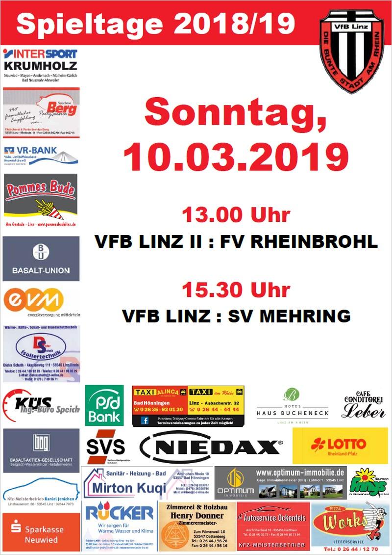 Spieltagplakat #11 Saison 2018/2019