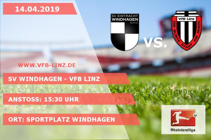 Spieltagplakat: SV Windhagen - VfB Linz